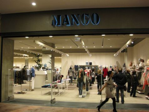 Mango shop in Nicosia