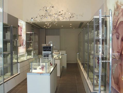 Swarovski shop in Nicosia