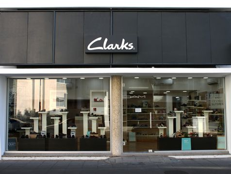 Clarks shop in Nicosia
